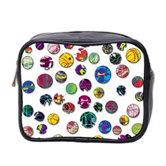 Play With Me Mini Toiletries Bag 2 Side by Valentinaart
