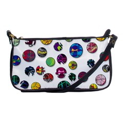 Play With Me Shoulder Clutch Bags by Valentinaart