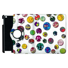Play With Me Apple Ipad 2 Flip 360 Case by Valentinaart