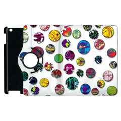 Play With Me Apple Ipad 3/4 Flip 360 Case by Valentinaart