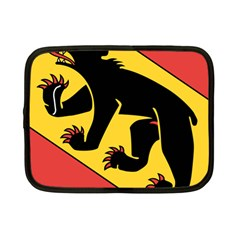 Flag Of Canton Of Bern Netbook Case (small)