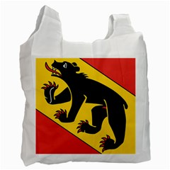 Flag Of Canton Of Bern Recycle Bag (one Side) by abbeyz71