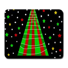 Xmas Tree  Large Mousepads by Valentinaart