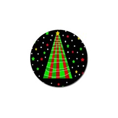 Xmas Tree  Golf Ball Marker