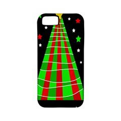 Xmas Tree  Apple Iphone 5 Classic Hardshell Case (pc+silicone) by Valentinaart