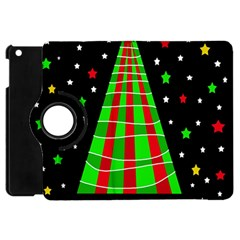 Xmas Tree  Apple Ipad Mini Flip 360 Case by Valentinaart