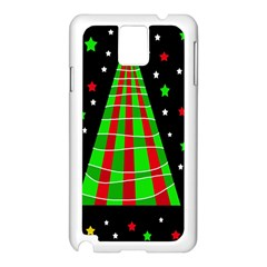 Xmas Tree  Samsung Galaxy Note 3 N9005 Case (white) by Valentinaart