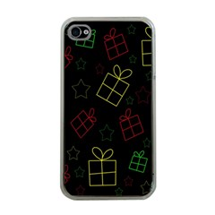 Xmas Gifts Apple Iphone 4 Case (clear) by Valentinaart