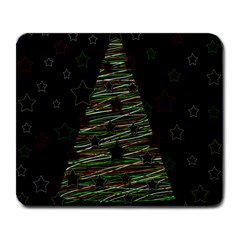 Xmas Tree 2 Large Mousepads by Valentinaart