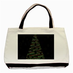 Xmas Tree 2 Basic Tote Bag (two Sides) by Valentinaart