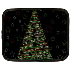 Xmas Tree 2 Netbook Case (xxl)  by Valentinaart