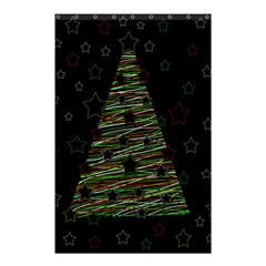 Xmas Tree 2 Shower Curtain 48  X 72  (small)  by Valentinaart