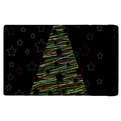 Xmas Tree 2 Apple Ipad 2 Flip Case by Valentinaart