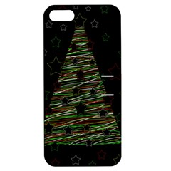 Xmas Tree 2 Apple Iphone 5 Hardshell Case With Stand by Valentinaart
