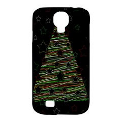 Xmas Tree 2 Samsung Galaxy S4 Classic Hardshell Case (pc+silicone) by Valentinaart