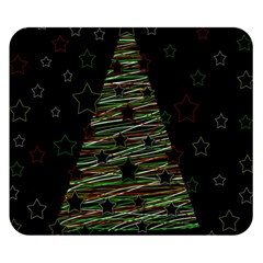 Xmas Tree 2 Double Sided Flano Blanket (small)  by Valentinaart