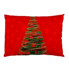 Xmas Tree 3 Pillow Case (two Sides) by Valentinaart