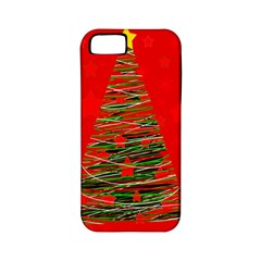 Xmas Tree 3 Apple Iphone 5 Classic Hardshell Case (pc+silicone) by Valentinaart