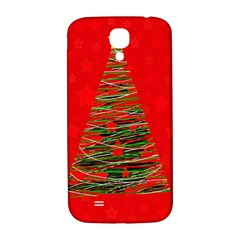 Xmas Tree 3 Samsung Galaxy S4 I9500/i9505  Hardshell Back Case by Valentinaart