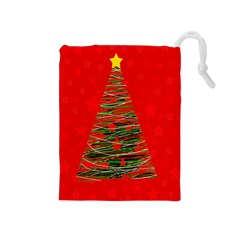 Xmas Tree 3 Drawstring Pouches (medium)