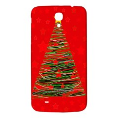 Xmas Tree 3 Samsung Galaxy Mega I9200 Hardshell Back Case by Valentinaart