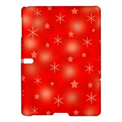 Red Xmas Desing Samsung Galaxy Tab S (10 5 ) Hardshell Case  by Valentinaart