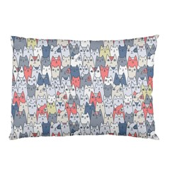 Cats Family  Pillow Case by Mishacat