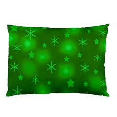 Green Xmas Design Pillow Case (two Sides) by Valentinaart