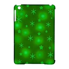 Green Xmas Design Apple Ipad Mini Hardshell Case (compatible With Smart Cover) by Valentinaart