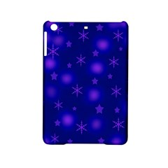 Blue Xmas Design Ipad Mini 2 Hardshell Cases by Valentinaart