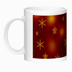 Xmas Design Night Luminous Mugs by Valentinaart
