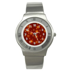 Xmas Design Stainless Steel Watch by Valentinaart