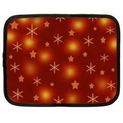 Xmas Design Netbook Case (large) by Valentinaart