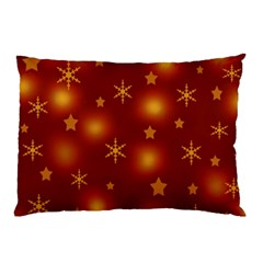 Xmas Design Pillow Case by Valentinaart