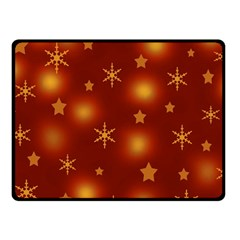 Xmas Design Fleece Blanket (small) by Valentinaart