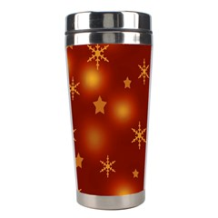 Xmas Design Stainless Steel Travel Tumblers by Valentinaart