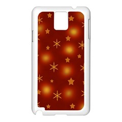 Xmas Design Samsung Galaxy Note 3 N9005 Case (white) by Valentinaart