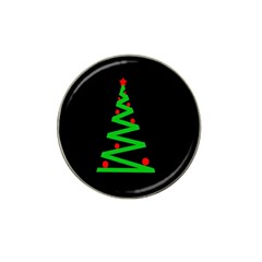 Simple Xmas Tree Hat Clip Ball Marker by Valentinaart