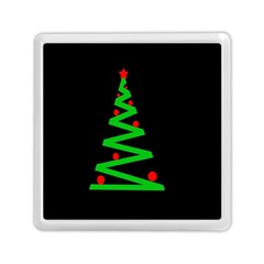 Simple Xmas Tree Memory Card Reader (square)  by Valentinaart