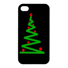 Simple Xmas Tree Apple Iphone 4/4s Hardshell Case