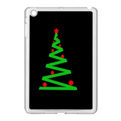 Simple Xmas Tree Apple Ipad Mini Case (white) by Valentinaart