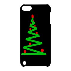 Simple Xmas Tree Apple Ipod Touch 5 Hardshell Case With Stand by Valentinaart