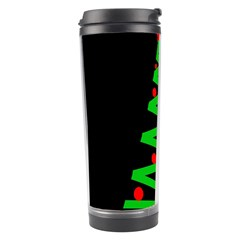 Simple Xmas Tree Travel Tumbler by Valentinaart