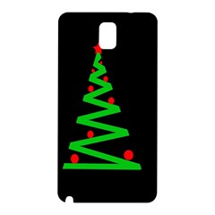 Simple Xmas Tree Samsung Galaxy Note 3 N9005 Hardshell Back Case by Valentinaart
