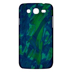 Green And Blue Design Samsung Galaxy Mega 5 8 I9152 Hardshell Case  by Valentinaart