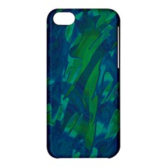 Green And Blue Design Apple Iphone 5c Hardshell Case