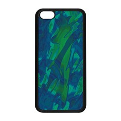 Green And Blue Design Apple Iphone 5c Seamless Case (black)