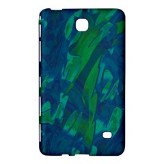 Green And Blue Design Samsung Galaxy Tab 4 (7 ) Hardshell Case  by Valentinaart