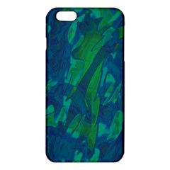 Green And Blue Design Iphone 6 Plus/6s Plus Tpu Case by Valentinaart