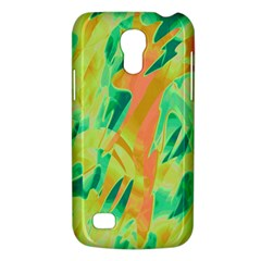Green And Orange Abstraction Galaxy S4 Mini by Valentinaart
